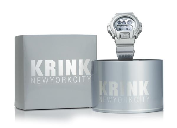 Krink G-shock Watch New York City