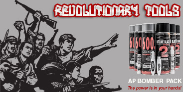 Propagandize glorious revolutions with efficiency!