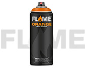 Flame Orange High Output Paint