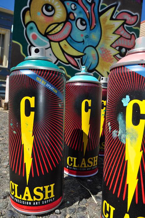 Clash 400ml Spray Paint