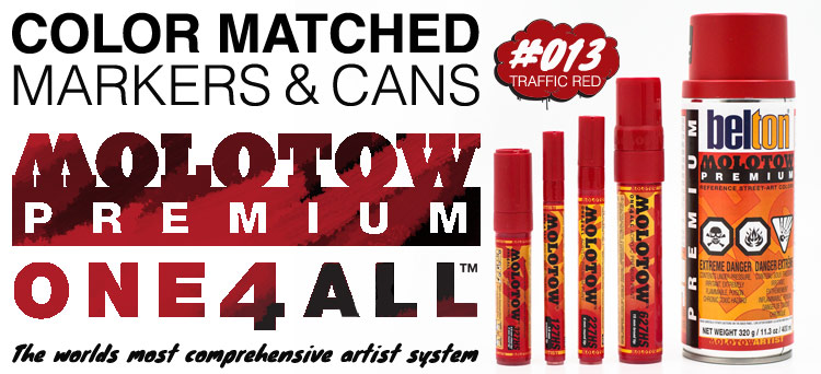 Try the worlds best sprays and markers!