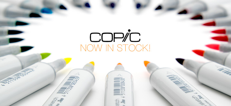 Copic Sketch Markers Now In Stock!