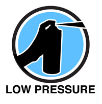 Low Pressure Spray Paint