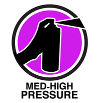 Medium-High Pressure Spray Paint