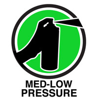 Medium-Low Pressure Spray Paint