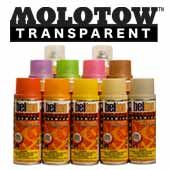 Belton Molotow Premium Transparent Spray Paint
