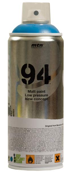Mtn 94 Is Spray Paint Produced By Montana Colors Of Spain It Low Pressure And Has A Matte Finish Each Color Formulated With Synthetic Resin